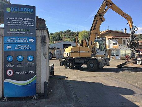 Delabre entreprise de récupération de déchets en Rhône-Alpes-Auvergne