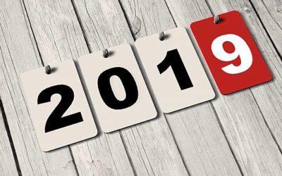 Meilleurs vœux 2019 !